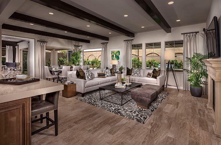 Palo Alto - Residence 3   Kb homes, Farmhouse decor living ...