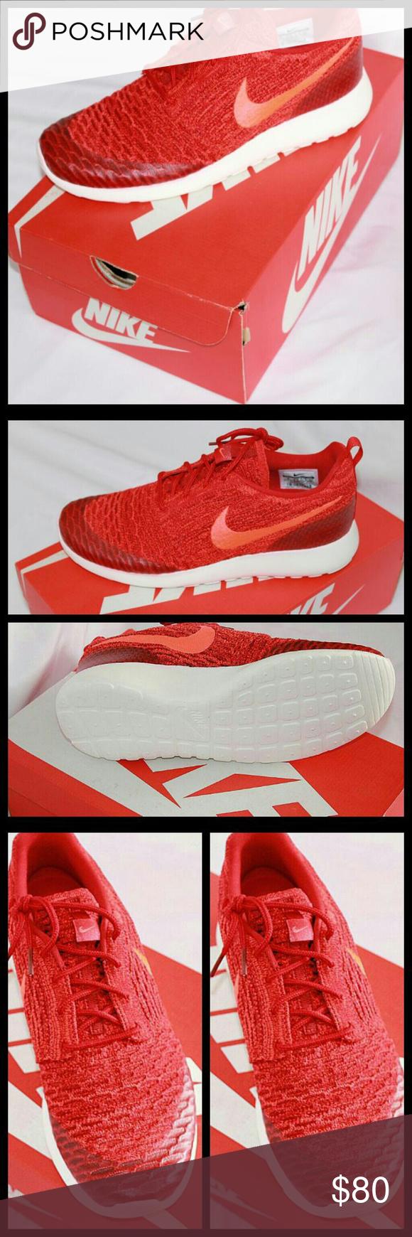New Nike Roshe One Flyknit 704927 601 New in box Never worn