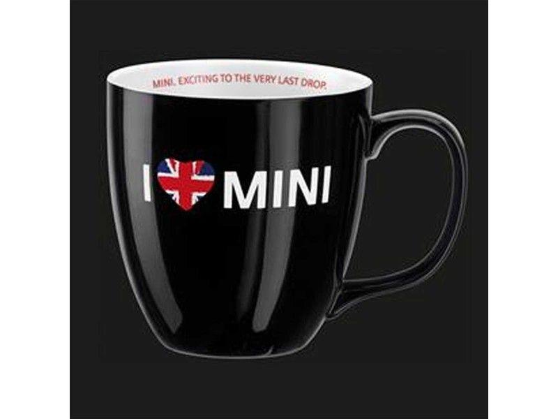 Mini Cooper Gift - I Love Mini Coffee Mug - Black | MINI Cooper ...