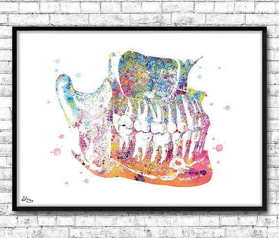 Cadeau Dentiste, Art Médical, Cabinet Dentaire, Art Dental