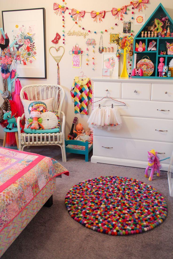 Islas Bedroom Rainbow Circus Theme Bright Colours Liberty