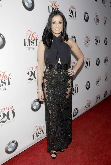 Dayanara Torres looks as fit as ever during Latina's 20th Anniversary celebrating the Hollywood Hot list honorees on November 2, 2016...