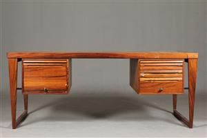 Double -desk from Kai Kristiansen in rosewood