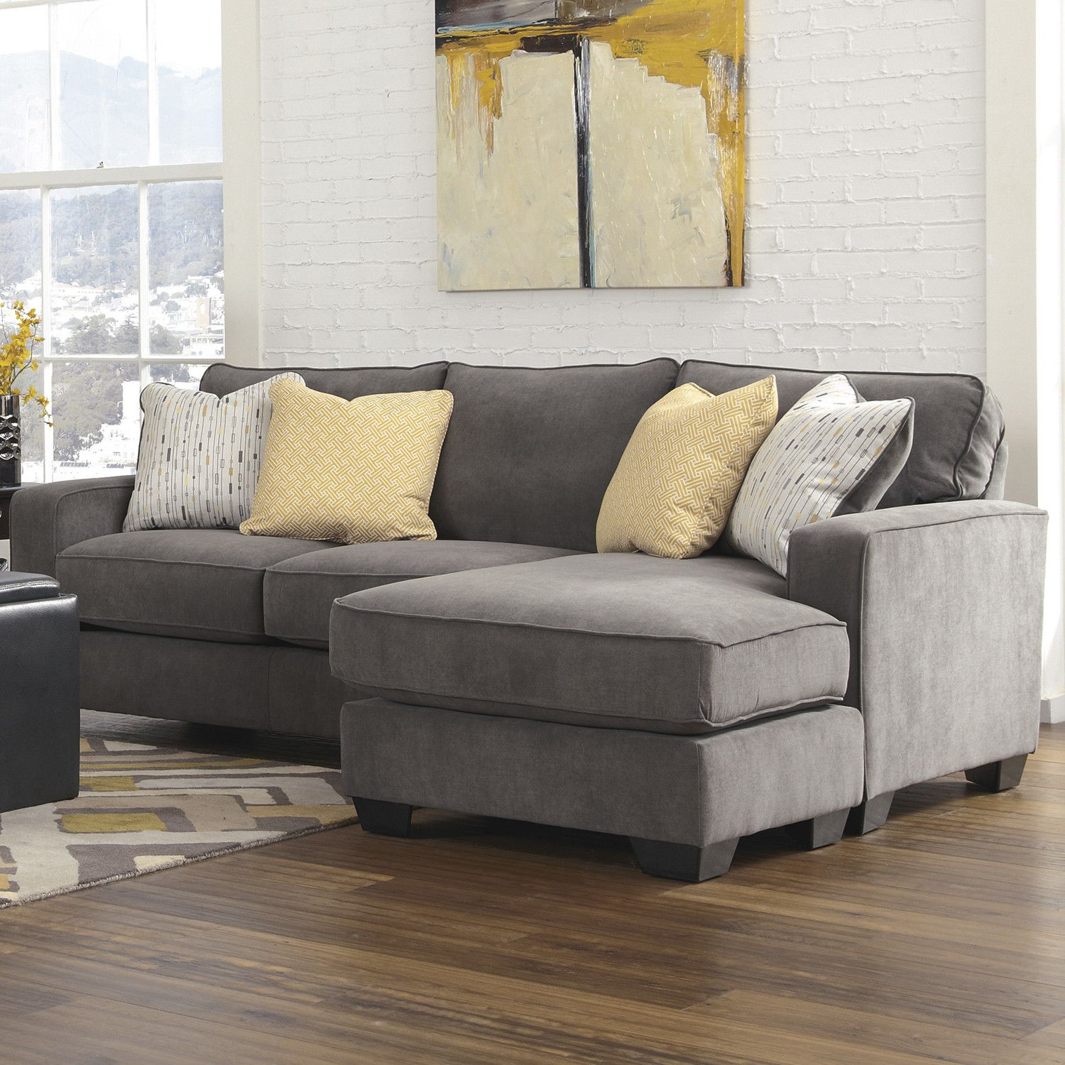 Mercer41 Kessel Reversible Chaise Sectional | Apartment and Dorm ...