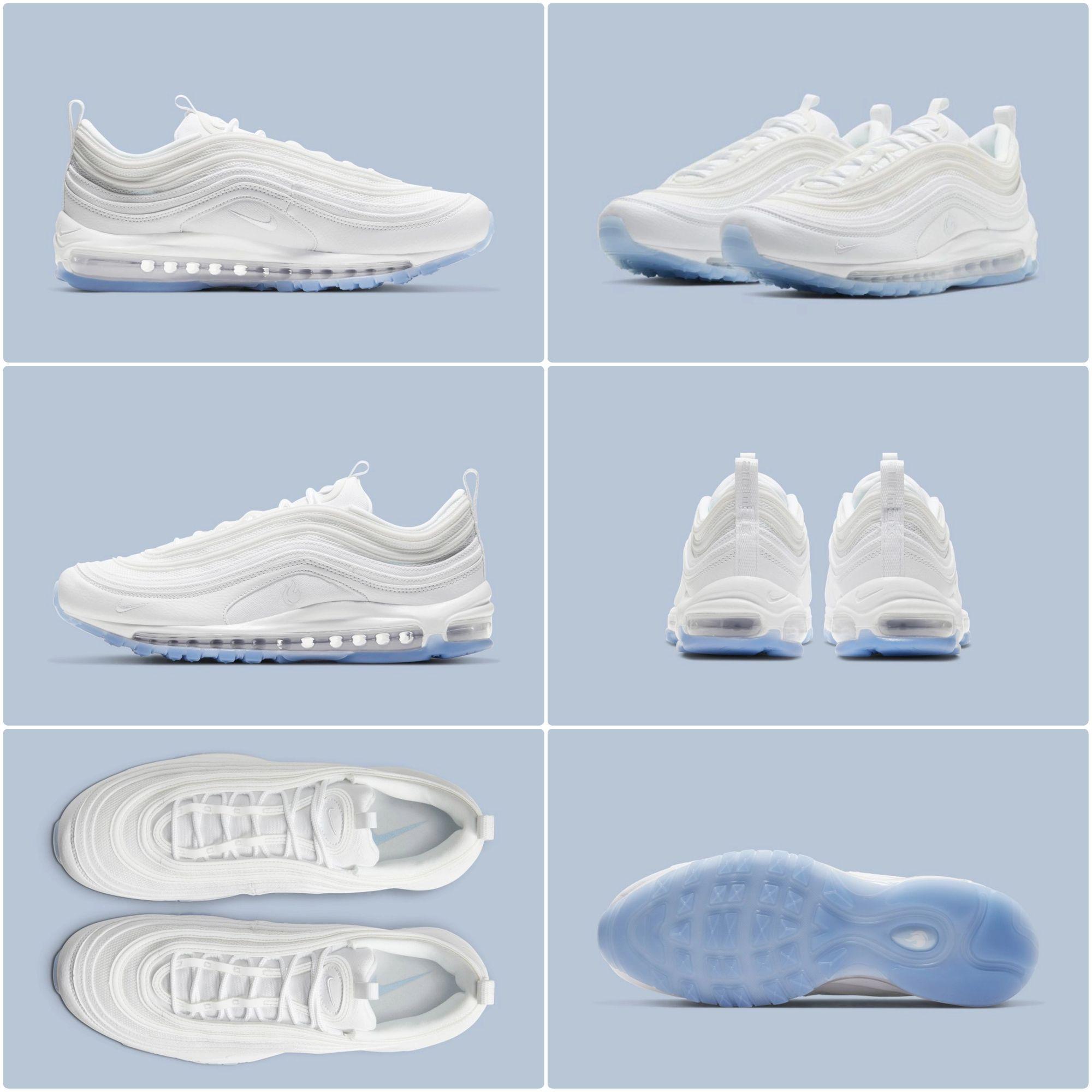 Demnachst Erscheint Ein Nike Air Max 97 White Ice Klickt Den