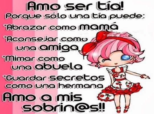 """Para Una Sobrina: """"Saludos A Mis Sobrinos Queridos""""...... Mensajes Cortos"""