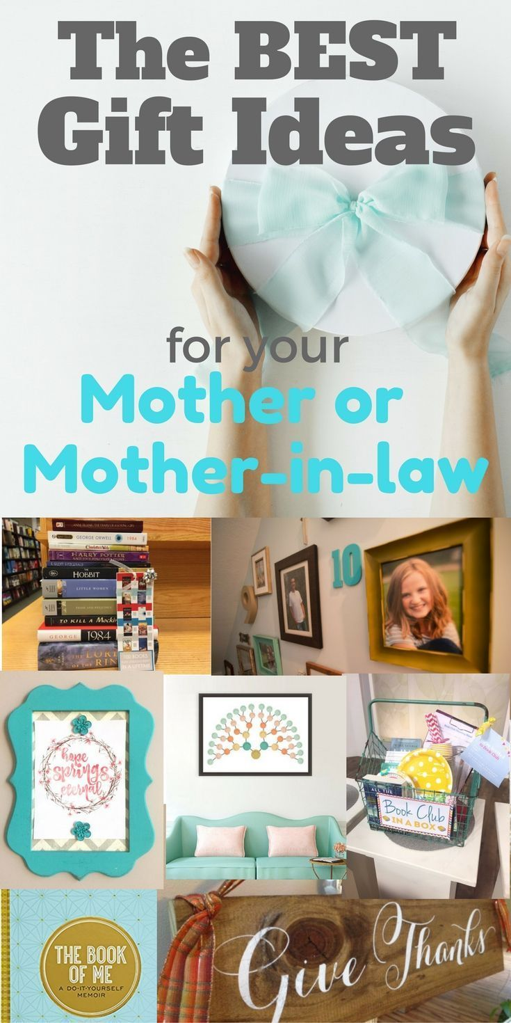 The BEST gift ideas for mothers and mothers-in-law ~ The Gifty Girl