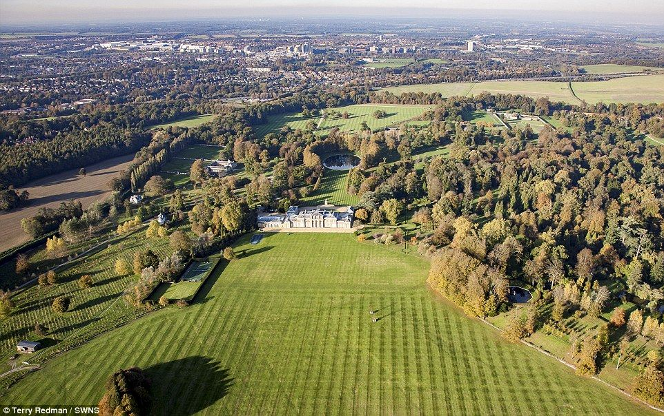 BritainS Most Expensive Estate Ever Up For Million  Aga And