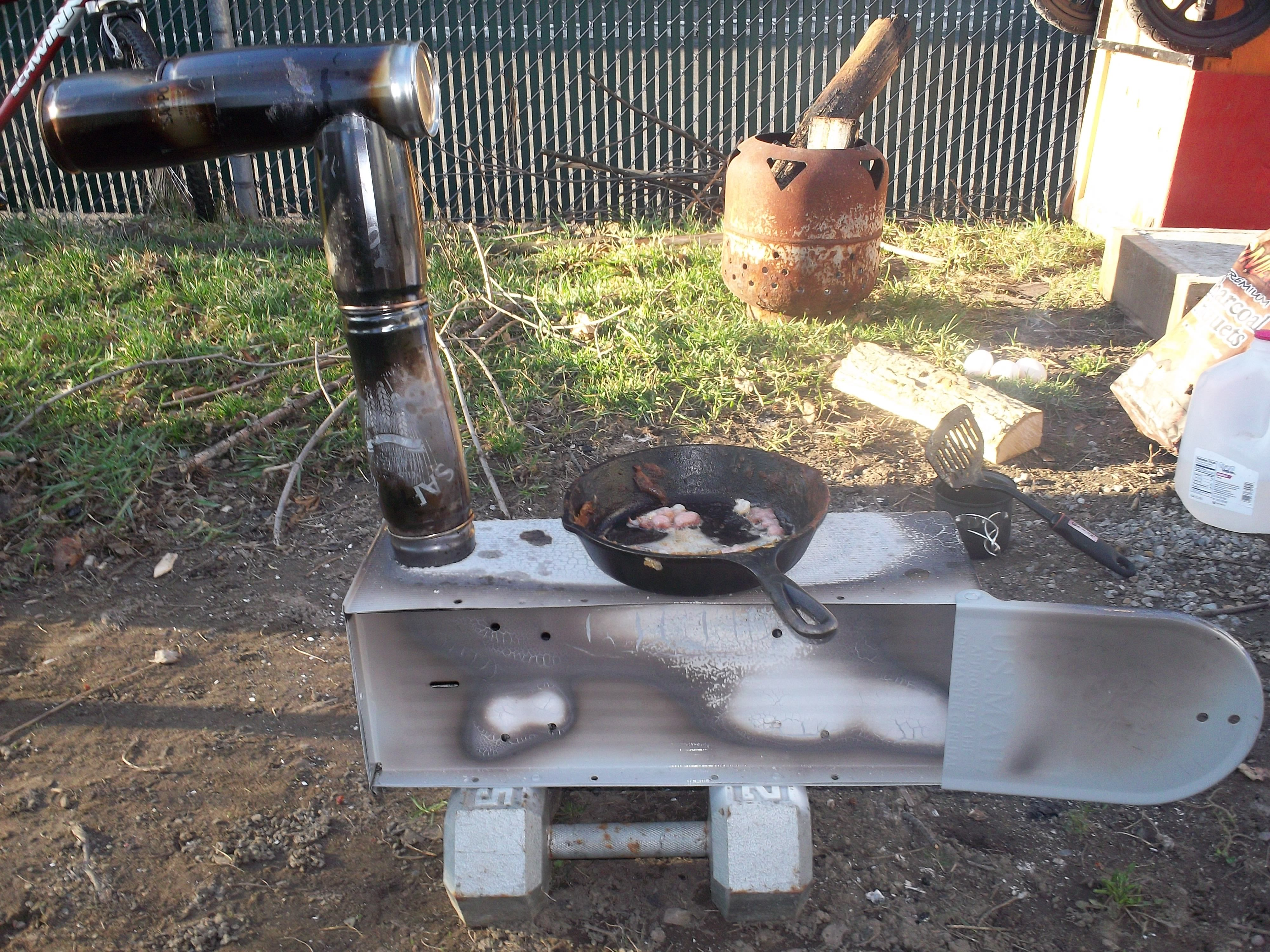 ugly mailboxes | Mailbox Wood Stove & ugly mailboxes | Mailbox Wood Stove | Cabin | Pinterest | Diy wood ...