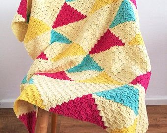 PDF Crochet baby blanket pattern,granny square baby blanket,Back to basicbaby blanket,Homemade Babyshower Gift,Baby afghan,Newborn blanket #c2cbabyblanket