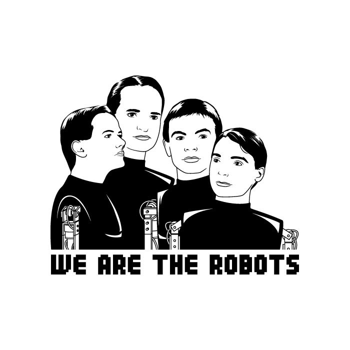 we are the robots | Music ismygirlfriend | Pinterest | Robot