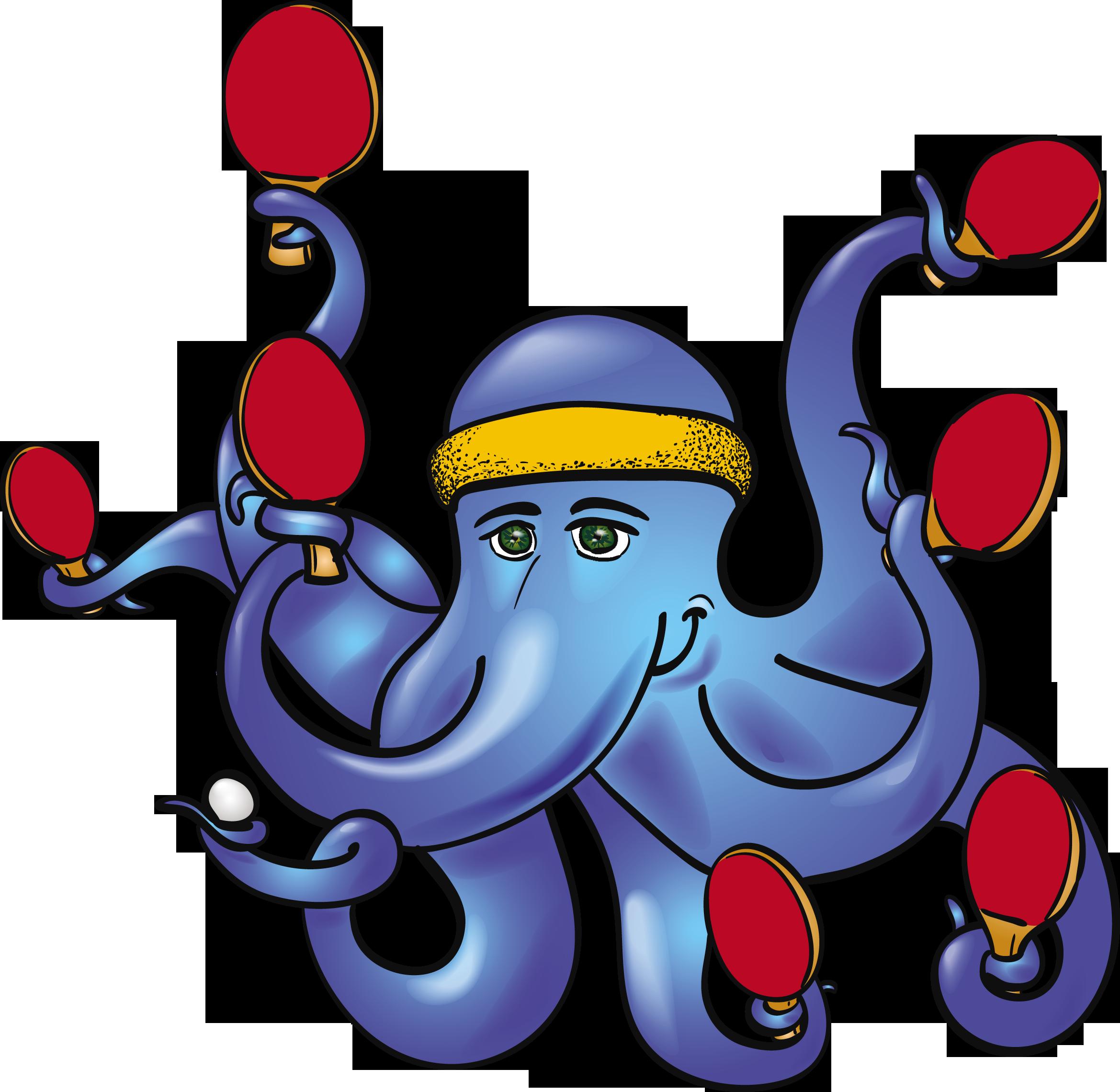 Table Tennis Octopus Tennis