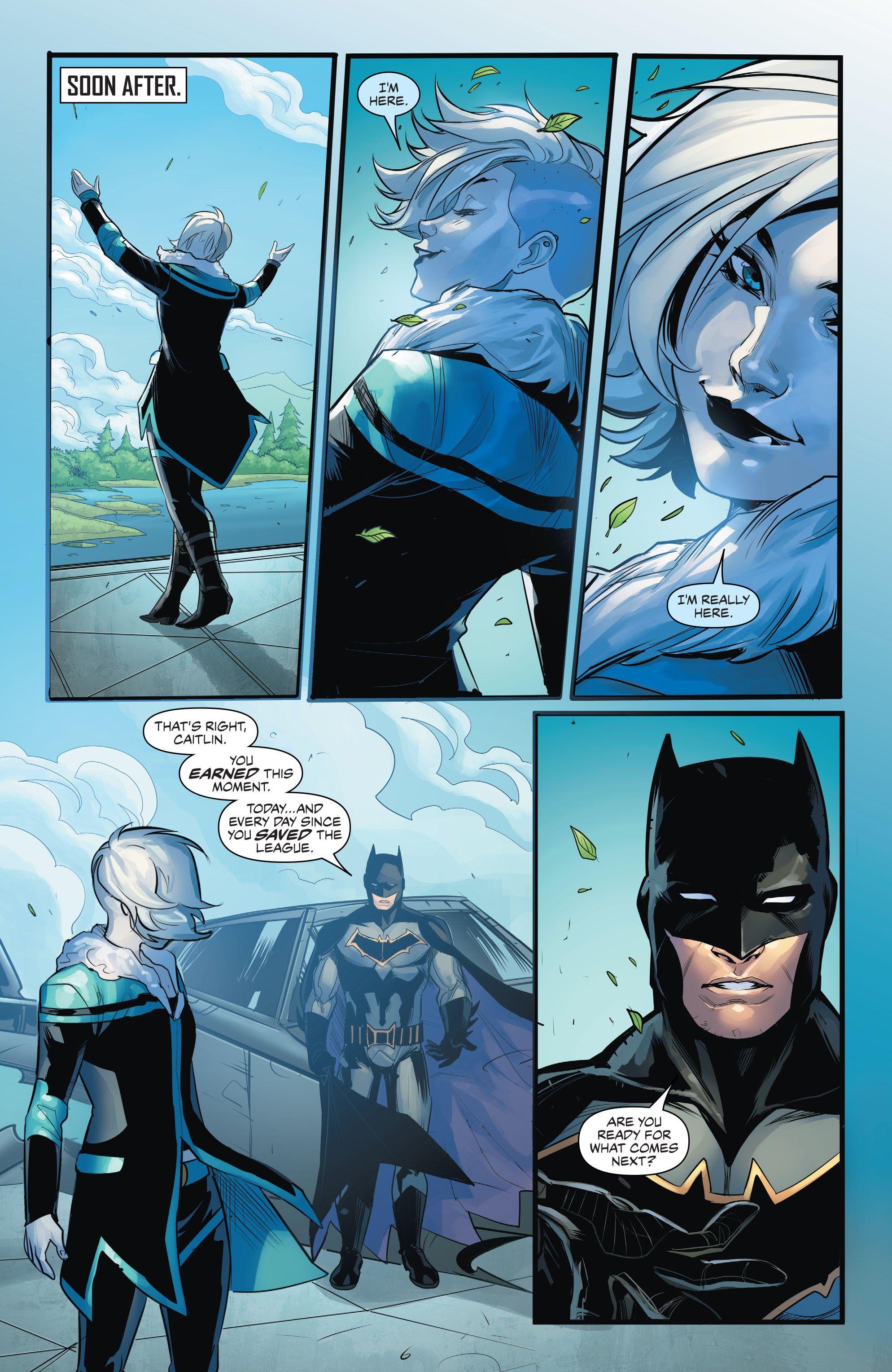 Justice League of America: Killer Frost - Rebirth Full
