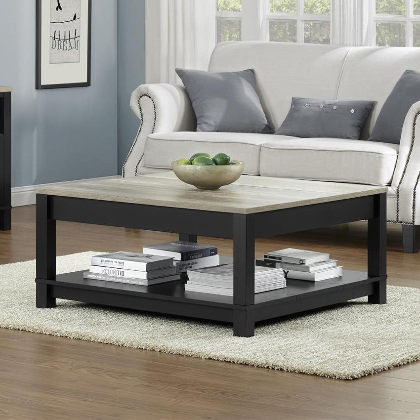 Shop Ameriwood Home Carver Coffee Table At The Mine Browse Our