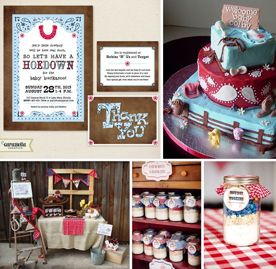 Baby Shower Cowboy Theme: LOVING This Western Baby Shower Theme By CaraBella