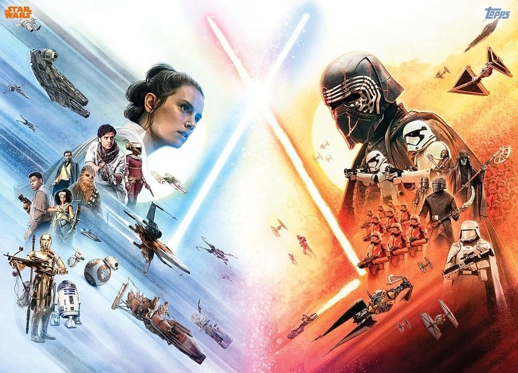 A4 A3 SIZES STAR WARS THE RISE OF SKYWALKER POSTER ART PRINT