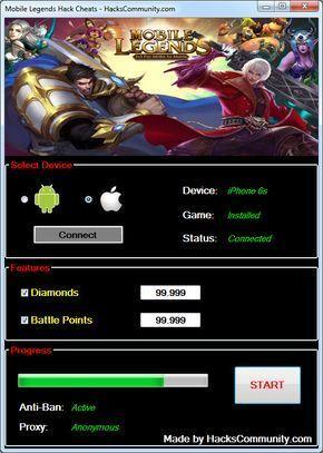 Mobile Legends Hack Cheats Mobile Legends Mobile Legend
