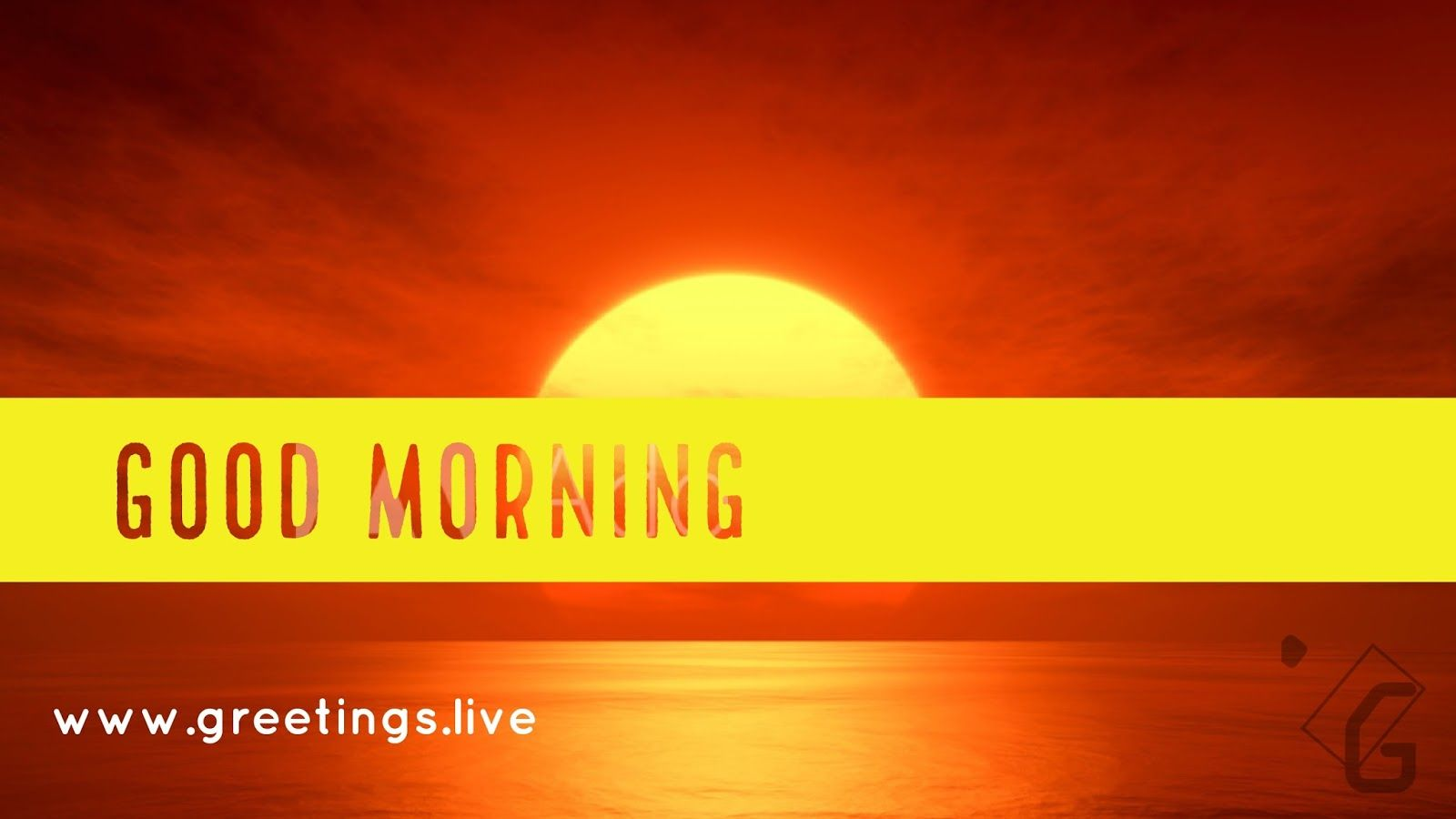 Morning Greetings At Ocean Background Good Morning Greetings Live
