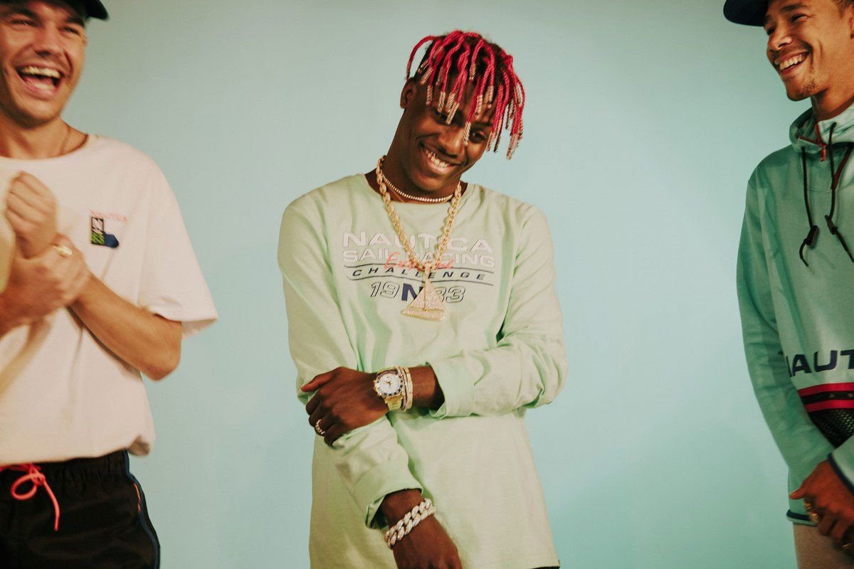 Lil+Yachty+is+the+new+Nautica's+Creative+Designer