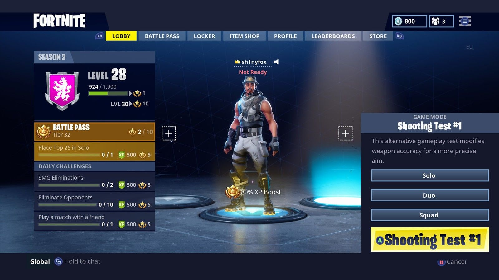Fortnite Lobby Games Hub Inspo Photo Booth Desktop Screenshot