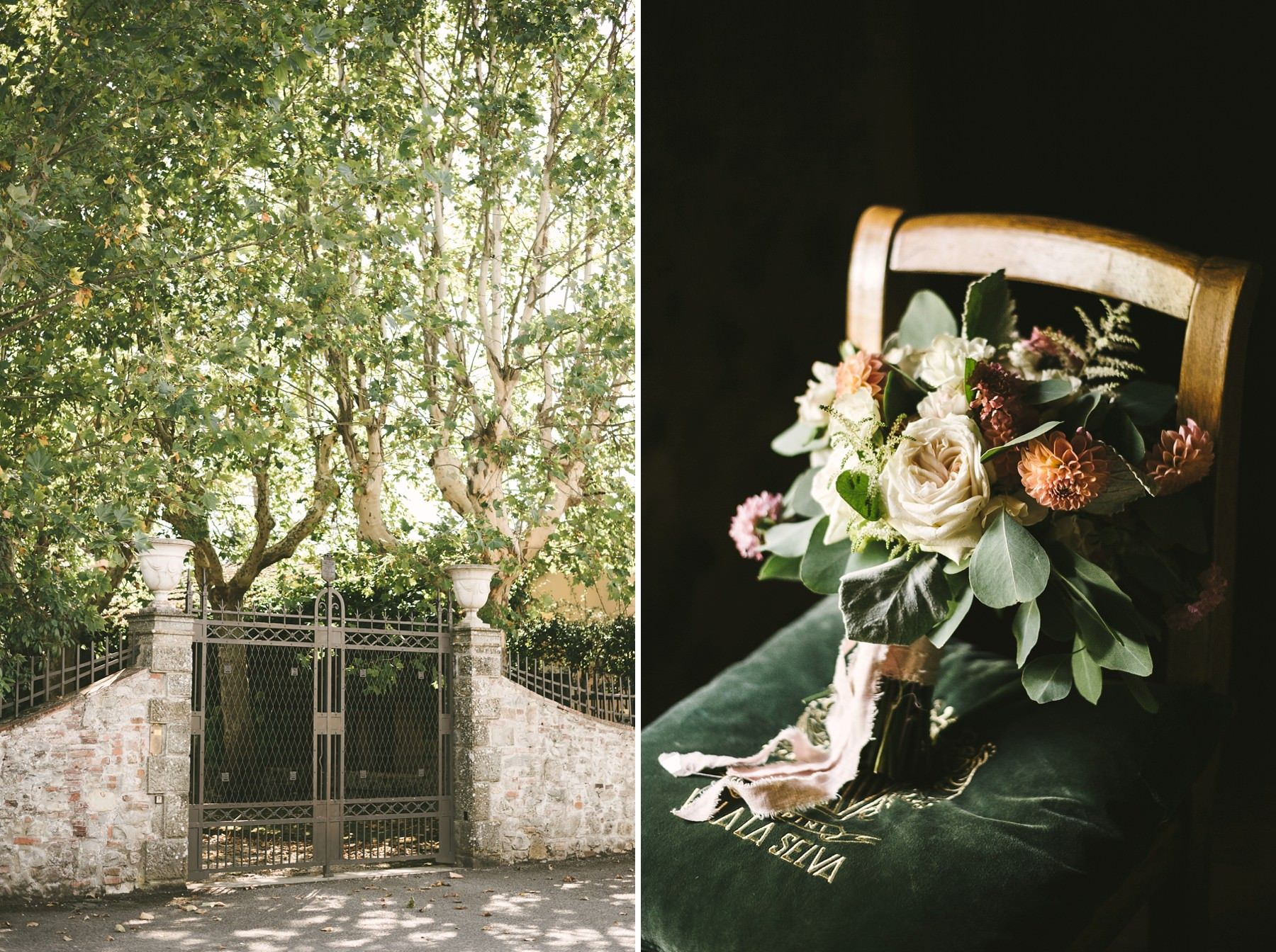 A Wonderful Elopement In Italy Wedding For Two At Villa La Selva Wine Resort Italy Wedding Tuscany Wedding Elopement Ceremony