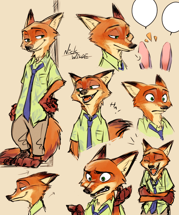 Nick Wilde from ZOOTOPIA …