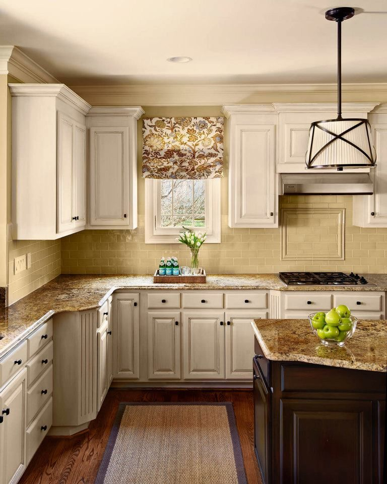 Hgtv Painting Kitchen Cabinets: Roman Shade, Kitchen Colors