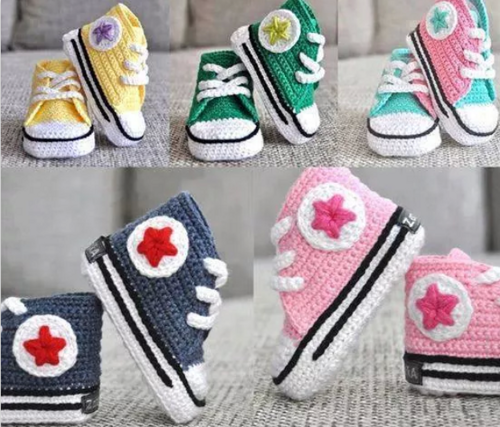 Most adorable baby shoes, new born to 1 year, message age & color. | madewithlovebyfatima - Children's on ArtFire