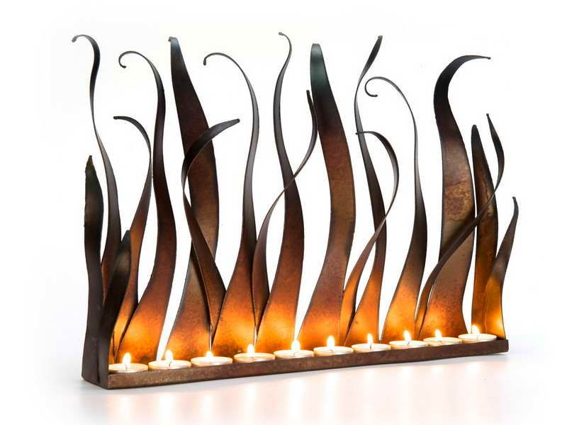 Vintage Style of the Modern Fireplace Candelabra Modern Fireplace