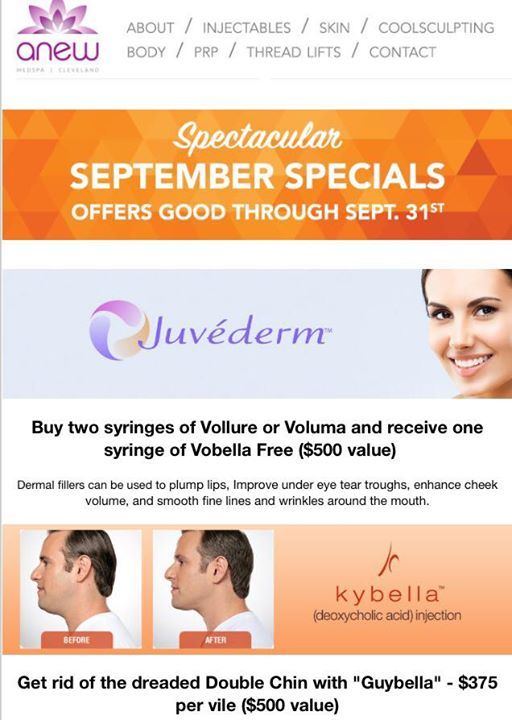 Anew Spectacular September Specials have been released early