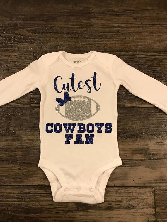 95506e2b5 Girls shirt- Dallas cowboys onesie