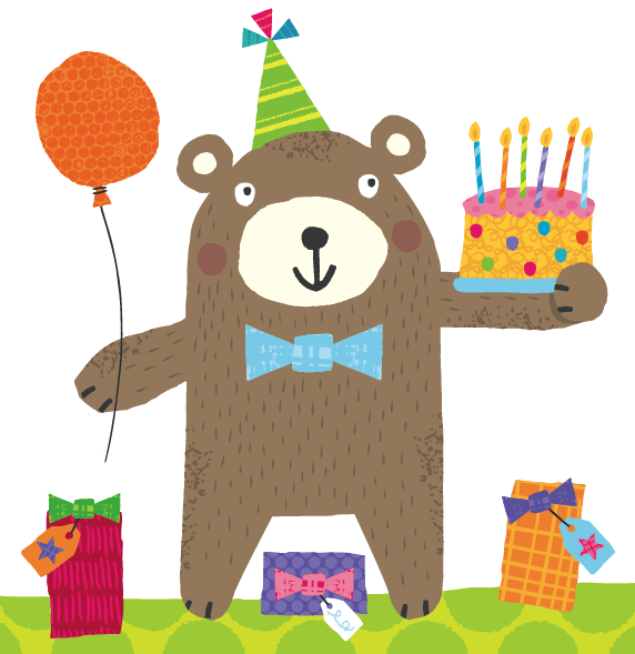 пожелание с днем рождения медведя продаже быстро появились