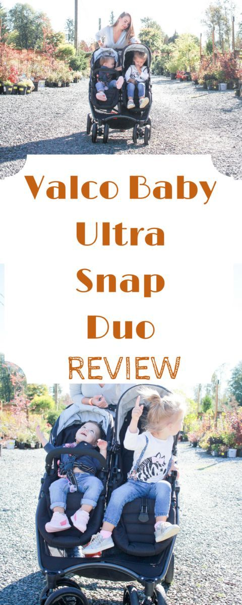 Easy Strolling with Valco Baby Canada Snap Ultra Duo a