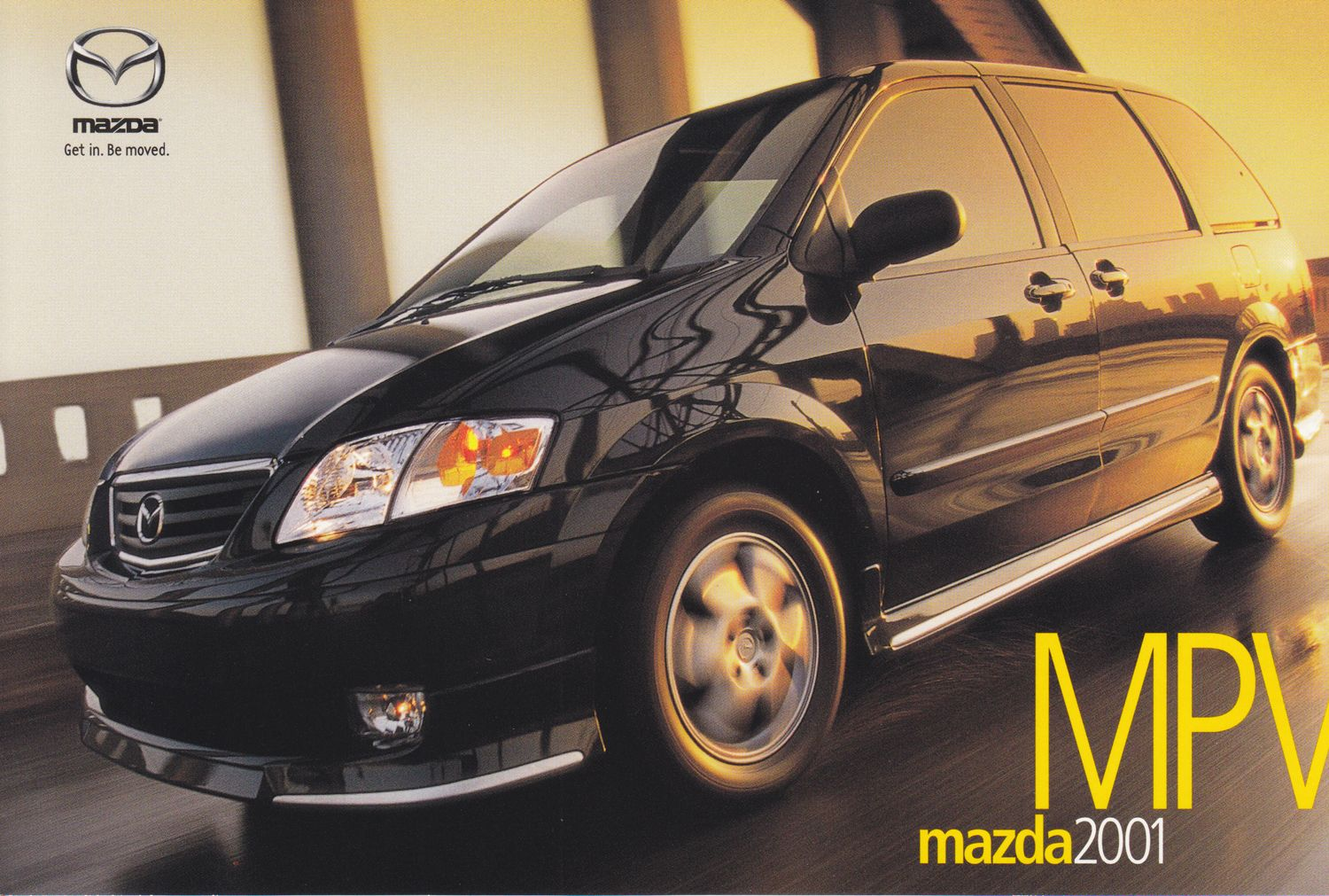 Mazda Mpv 2001 This Card Is For Sale For 1 Postage