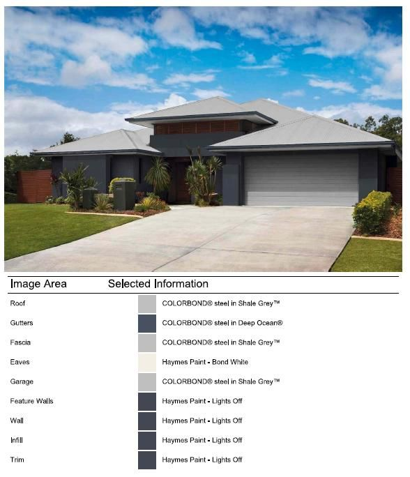 Exterior Facade Colour Selection Done With Colorbond Online Visualiser House Exteriors Cladding