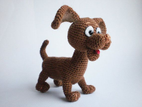Pocket Puppy Toto – Crochet Pattern by ToyMagic [PDF Instant ...