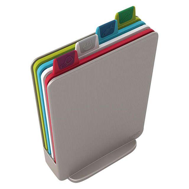 Joseph Joseph Mini Index Chopping Boards, Silver