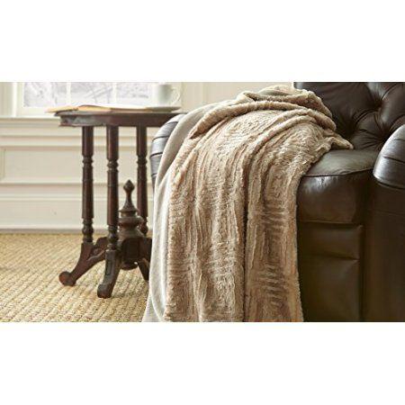 Amrapur Overseas Inc. Luxury Throw Blanket, White