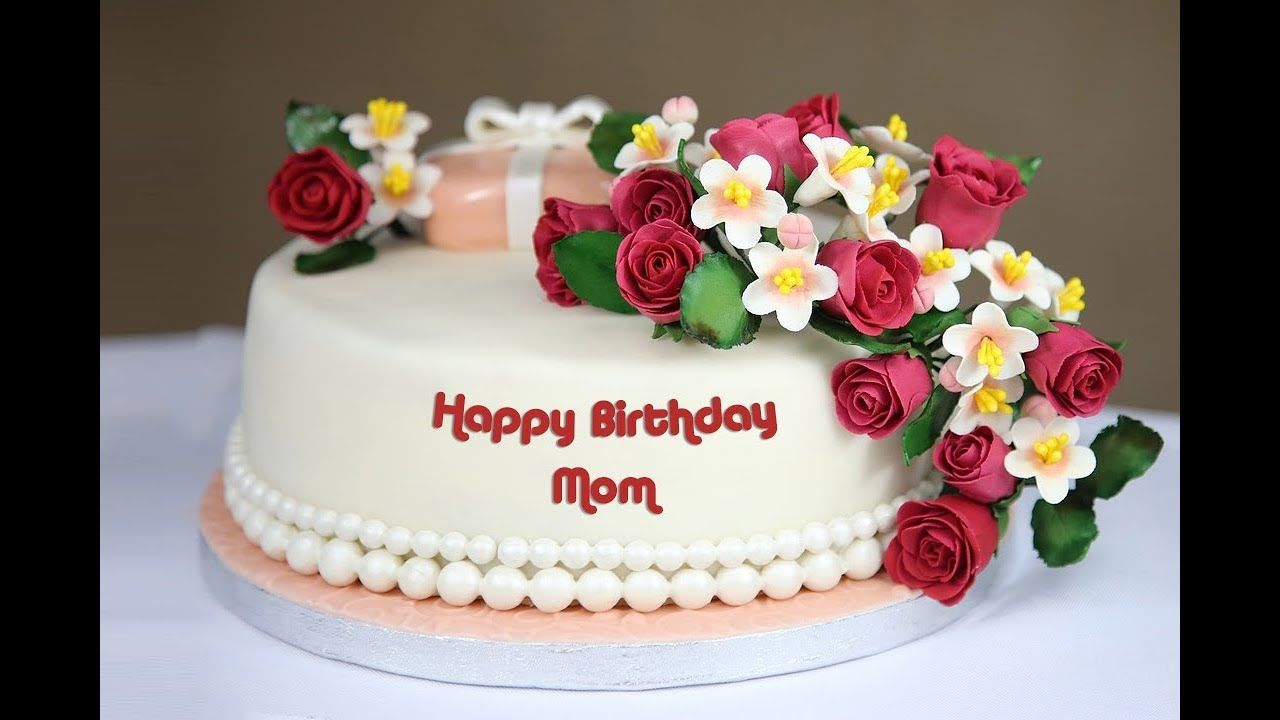 Birthday Cake For Mom With Name Happy Birthay Mom Wishes Images Birthday Cake For Mom Happy Birthday Mom Cake Birthday Cakes For Women