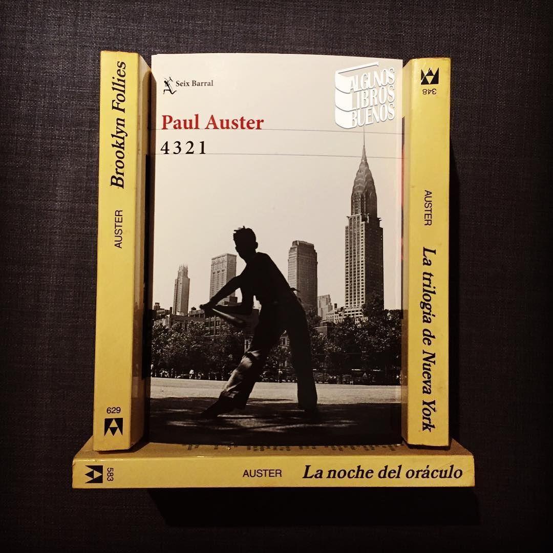 Has leído algún libro de #PaulAuster? . Nosotros somos muy