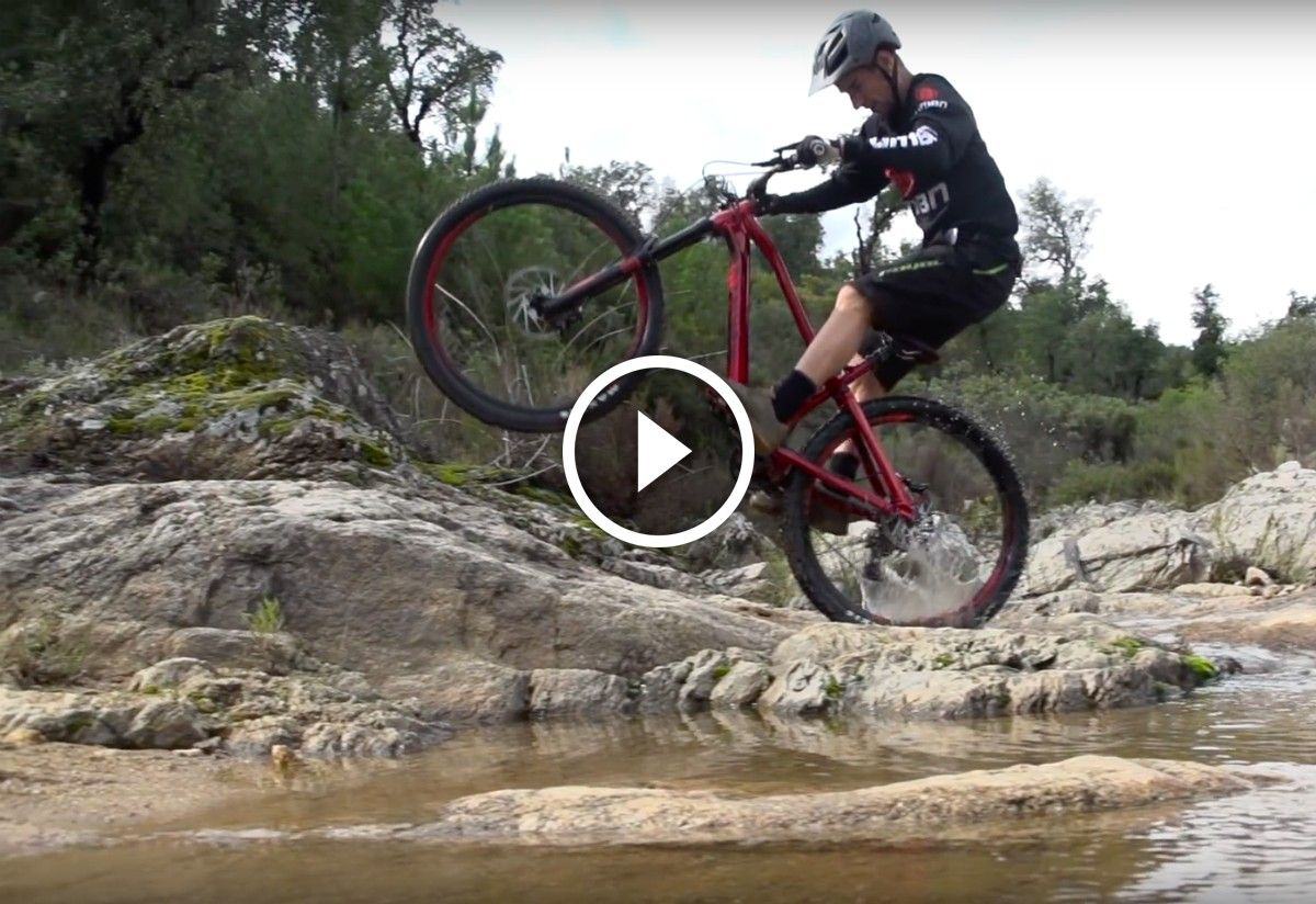 Video How To Perfect The Back Hop Mountain Biking Bike News