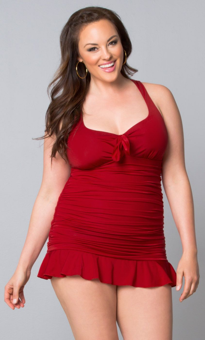 Check out the deal on Kelly Swimsuit-Sale at Kiyonna Clothing. Kelly Swimsuit-Sale 51121101 : Made in the USA $138.00   SALE: US $118.00. size 0x - 2x