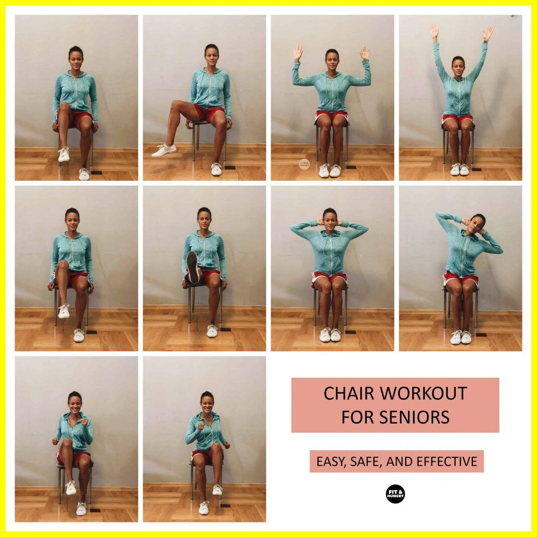 120 Reference Of Chair Exercises For Elderly With Dementia In 2020 Chair Exercises Senior Fitness Older Adults