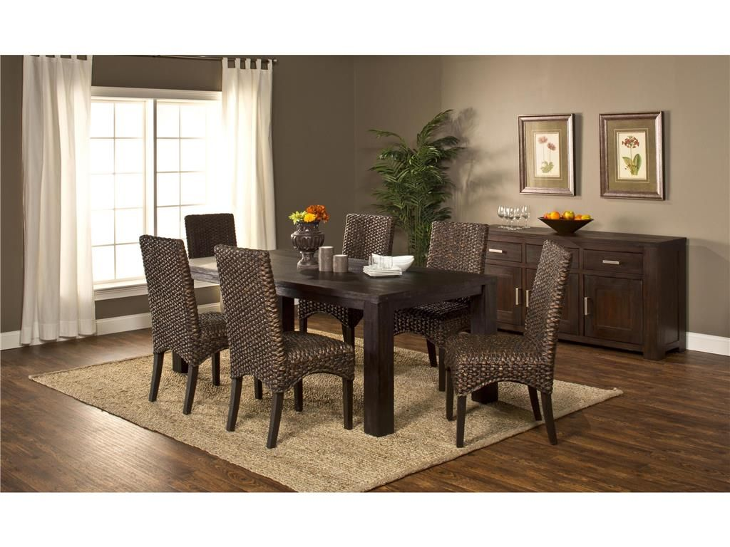 Hillsdale Furniture Dining Room Simply Sydney 7pc Dining Set 4453DTBC7   Smith  Village Home Furnishings