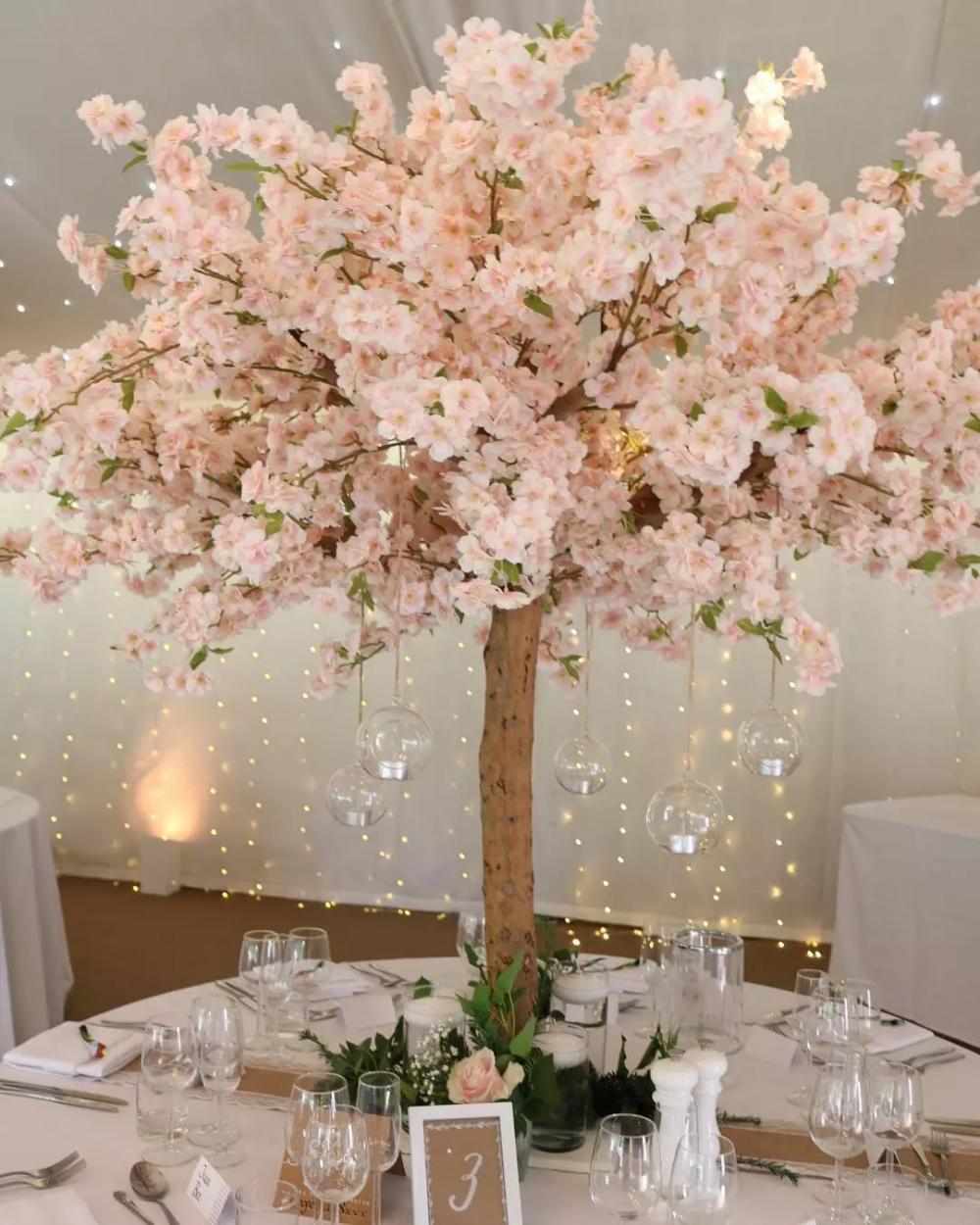 Plastic Tree Centerpiece Blossom Tree Wedding Cherry Blossom Theme Cherry Blossom Centerpiece