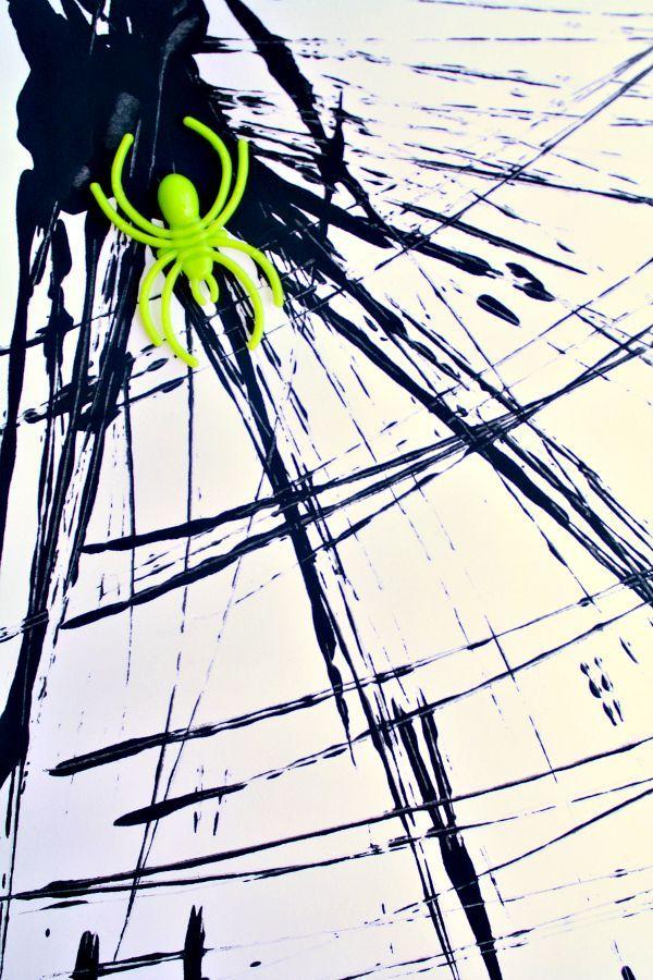 Spider Web Process Art | art | Pinterest | Salones de preescolar ...