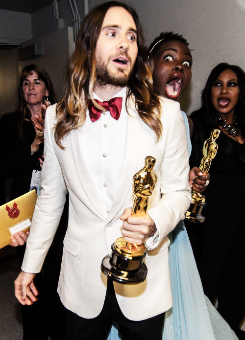 Lupita Nyong Is Hookup Actor Jared Leto