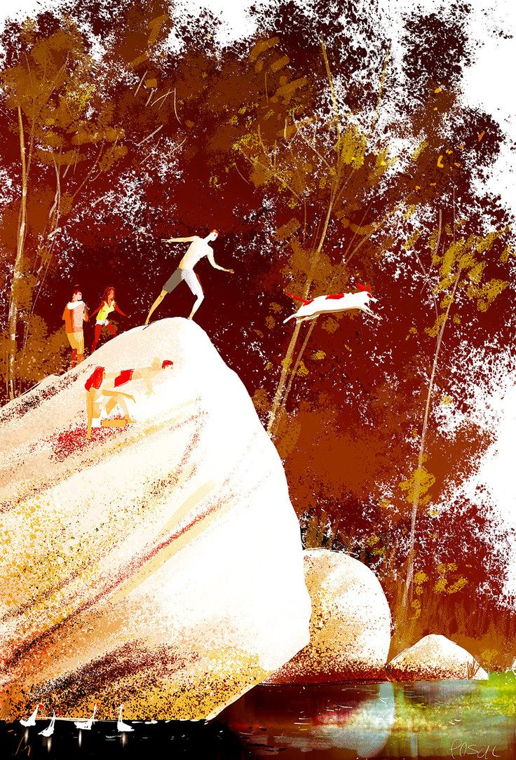 Charly s jump. by PascalCampion on DeviantArt