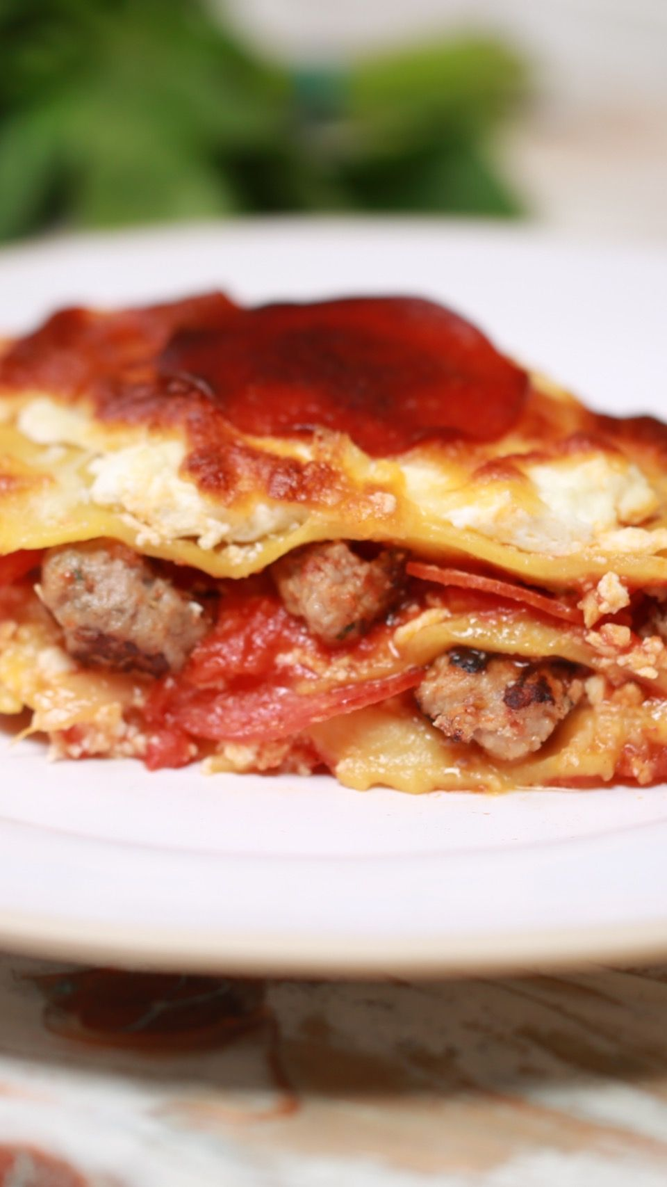 A pizza? A lasagna? Or, as we like to call it: carb heaven.