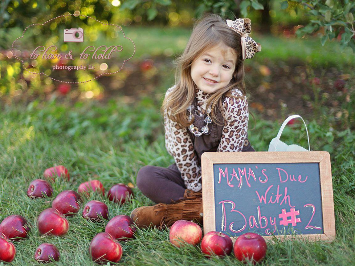 fall baby announcement ideas